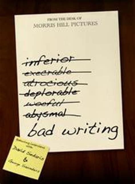 Quarterly essay bad news